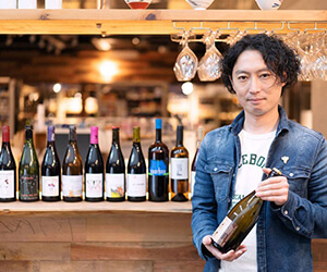 川越門屋酒店自然派ワイン定期便アイコン